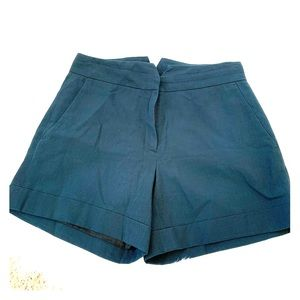 VTG Navy Italian Cotton Shorts Cargo High rise M